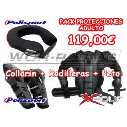 Pack Protecciones Adulto motocross Alta calidad oferta