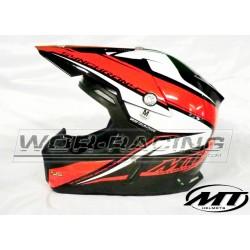 Casco moto Cross adulto MT Sinchrony MX -ROJO-