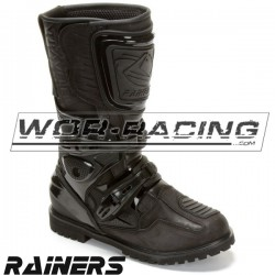 Botas RAINERS TRAVELER (Pitbike / Touring) - Negro.