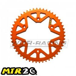 Corona MTR 48 a 52 Dientes KTM - HUSKVARNA -Naranja-
