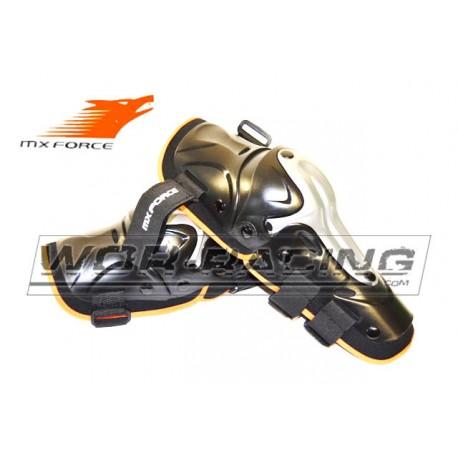 Rodilleras Infantiles motocross MX FORCE Articuladas
