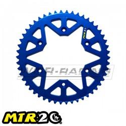 Corona MTR 48 a 51 Dientes KTM - HUSKVARNA -AZUL-