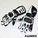 Guantes Cuero RAINERS WINNER Junior -Blanco-