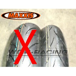 """Neumatico MAXXIS F1 - 100/90-12"""" - Pitbike y GP."""