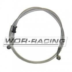 Latiguillo de Freno delantero moto universal racord 10mm  - 1000mm -Metalico-