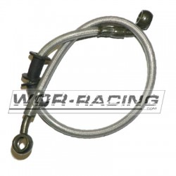 Latiguillo metalico 10x10 - 500mm Freno hidraulico de moto
