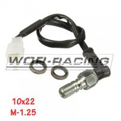 Tornillo Racor sensor interruptor luz Freno trasera 10x22x100 - Universal - JJuan