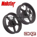 "Kit Llantas SM 12"" DHZ 2.50-3.00 Mobster MiniGP - Minimotard Negro"