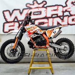 MINI Moto CROSS IMR MX 50cc 9cv infantil 2019 mini sx50 Naranja