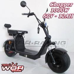 Patinete Chopper 1000w 60v HARLEY + Suspension -LITIO-
