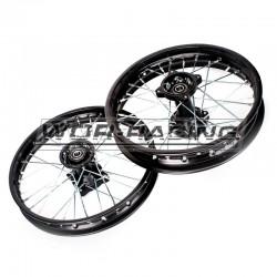 "Kit Llantas MX SDG 12/14"" Acero - Pitbike"