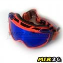 Gafas de Motocross MTR2 - OR (Naranja-Azul)