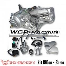 KIT Motor Zongshen 190cc (5 Marchas + Arranque) z190 pit bike super motard