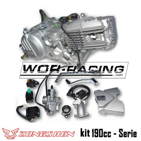 KIT Motor Zongshen 190cc (5 Marchas + Arranque) z190 pit bike super motard