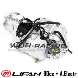 Motor 90cc LIFAN Semi Auto + Electrico (1P47FMF-G1)