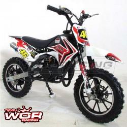MIINICROSS RN 49 cc moto infantil (5 años).
