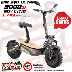 Patinete IMR 3000w 60v - LITIO - MAD MX EVO ULTRA