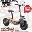 Patinete IMR 3000w 48v MAD MX EVO -Scooter electrico Gooped-
