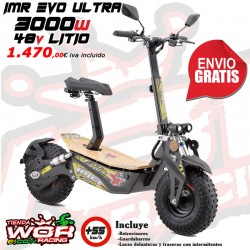 Patinete IMR 3000w 48v - LITIO - MAD MX EVO -Scoter electrico-