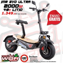 Patinete IMR 2000w 48v - LITIO - MAD MX EVO ultra -Scoter electrico-