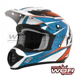 Casco motocross AFX Mod-17 - Azul