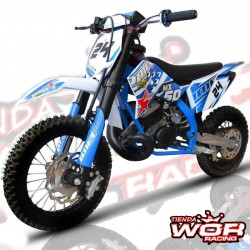 MINI Moto CROSS IMR MX 50cc 9cv infantil 2019 mini sx50 Azul