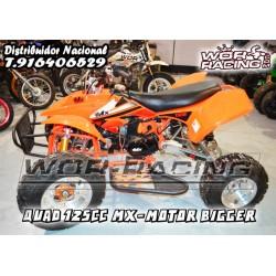 QUAD MX Motor Cross cadete  -BIGGER- 125cc