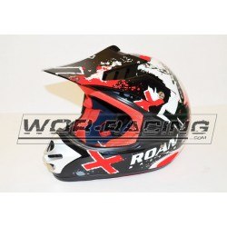 Casco Cross RN Infantil MX -ROJO-