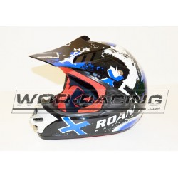 Casco Cross RN Infantil MX -Azul-