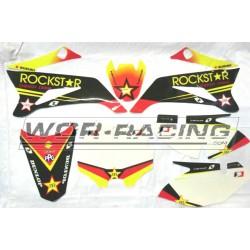 Kit Adhesivos yamaha TTR / pitsterpro LXR -Rockstar- Pitbike