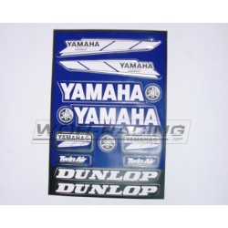 Kit Adhesivos Yamaha -Hoja A4-