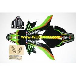 Kit Adhesivos pegatinas CRF 50 -Monster Team- Pitbikes