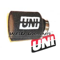 Filtro de potencia 38mm Aire - UNI Racing - NEGRO
