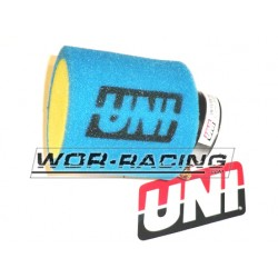 Filtro de potencia 38mm Aire - UNI Racing - Azul